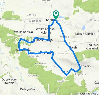 Gmina Rejowiec Fanryczny koncepcja szlaku zachodniego