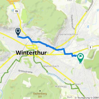 Schützenstrasse 63, Winterthur nach Im Hölderli 26, Winterthur