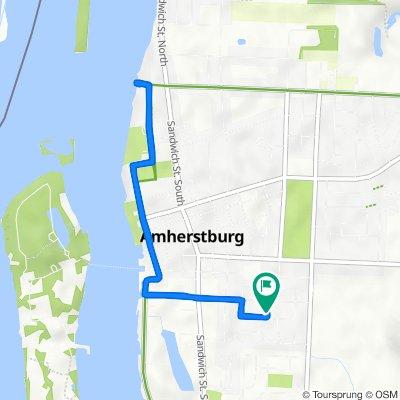 Hawthorn Crescent 276, Amherstburg to Hawthorn Crescent 276, Amherstburg