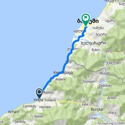Hopa-Batum Arası 40 km