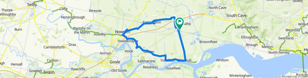 7 Green Acre Park, Brough to 49 Laburnum Walk, Brough
