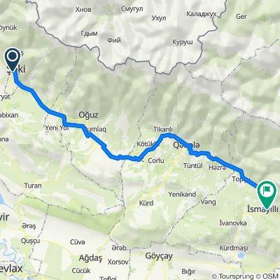 Sheki-İsmaili 125 km
