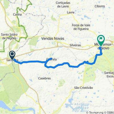 Rua Marechal Costa Gomes 16 to Largo Machado dos Santos 16, Montemor-o-Novo