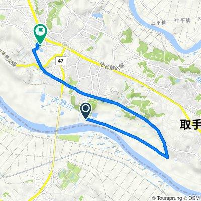 1648−2, 取手市 to 4丁目 33, 守谷市