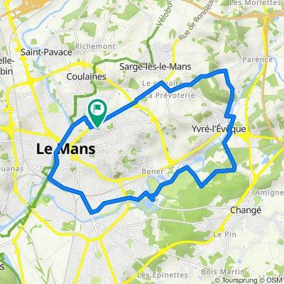 De Cours Saint-Damien 7, Le Mans à Cours Saint-Damien 3, Le Mans