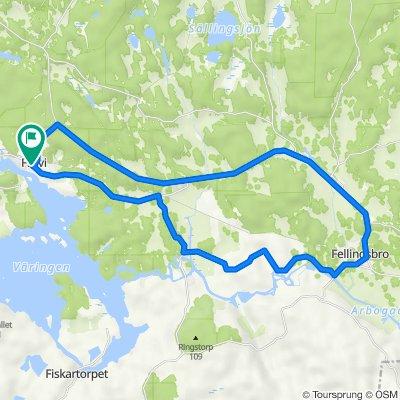Frövi-Ullersäter-Oppboga-Fellingsbro-Frövi