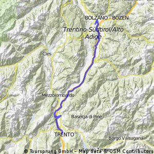09 Bozen-Trento CLONED FROM ROUTE 745891