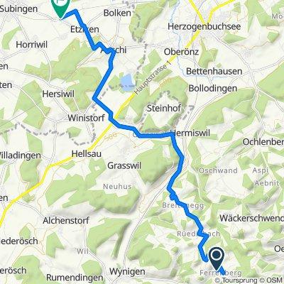 Oberbühlchnubel 227, Rüedisbach nach Bahnweg 4, Etziken