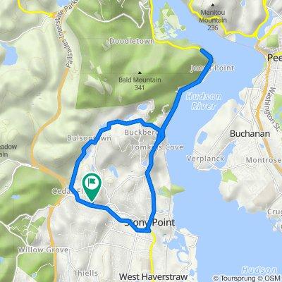 1 Tiorati Trail, Stony Point to 1 Tiorati Trail, Stony Point