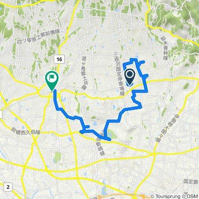 赤城山サイクリングマップ 04 赤城南麓パワースポット巡りコース