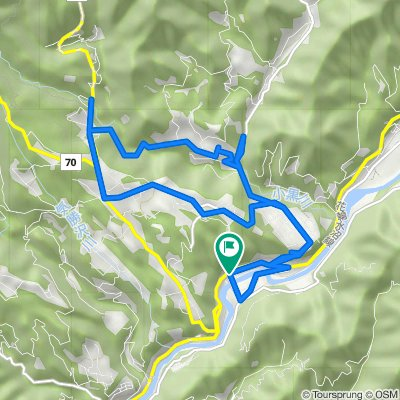 赤城山サイクリングマップ 05 赤城黒保根地区さとやま周遊コース