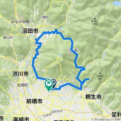 赤城山サイクリングマップ 06 赤城山1周ルート