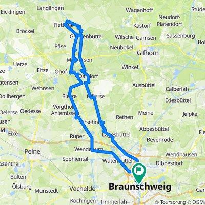 Die Oker Braunschweig Nord