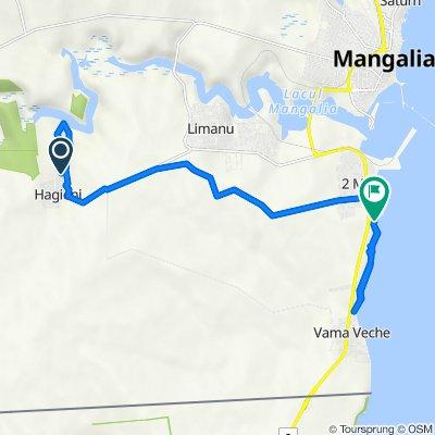 Alergare Canion Haginei - Micul Golf - Vama Veche