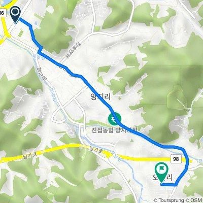 Haemiryedang 1-ro, Namyangju-si to 683-15 Onam-ri, Namyangju-si
