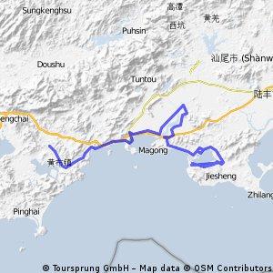 海豐至惠東探路