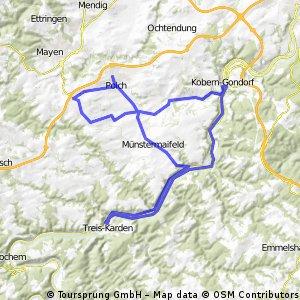 Große Maifeld-Mosel-Permanente - 75 km Perm. des VfB Polch e.V. Abt. Radsport