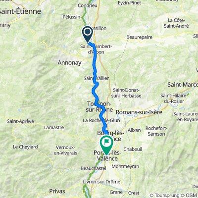 -2. Tour: Sablons - Portes les Valence