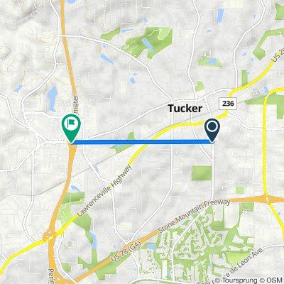 Idlewood Road 2151, Tucker to Lavista Road 4170, Tucker