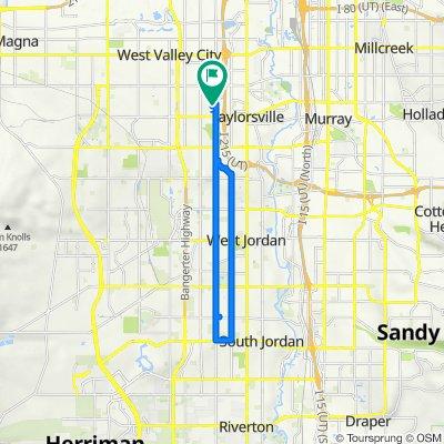 4494 S Parkbury Way, West Valley City to 4489 S Parkbury Way, West Valley City