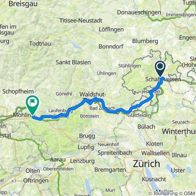 [DAY 27] Schaffhausen - Wallbach