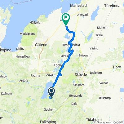 Vallevägen-Hornborgasjön Dag 3