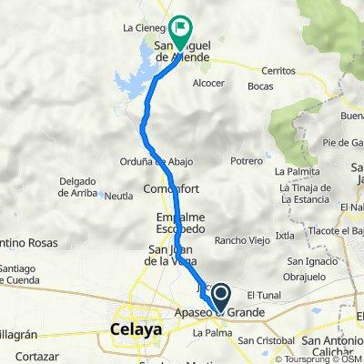 Apaseo el Grande a San Miguel de Allende