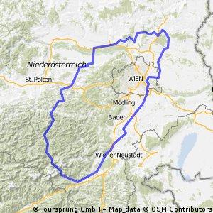 NÖ Rundfahrt 1200 Teil Süd