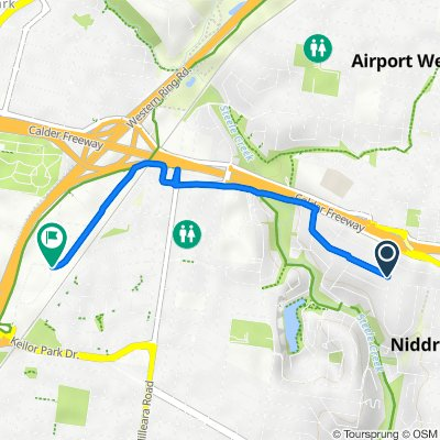 3 Newman Street, Niddrie to 34-36 Webber Parade, Keilor East