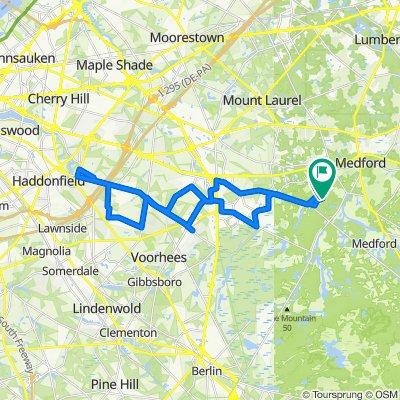 24 Illinois Trail, Medford to 25 Illinois Trail, Medford