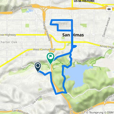1022 Calle Frondosa, San Dimas to S San Dimas Ave, San Dimas