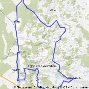Egmating Mangfalltal Westerham Bruckmühl CLONED FROM ROUTE 9375