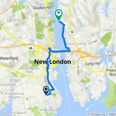 Nautilus Drive 239, New London to Unnamed Road, Groton