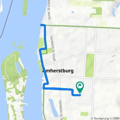 Hawthorn Crescent 274, Amherstburg to Hawthorn Crescent 276, Amherstburg