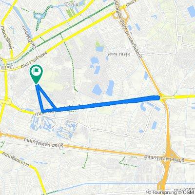 ถนน รามคำแหง 147/8 to ถนน รามคำแหง 169