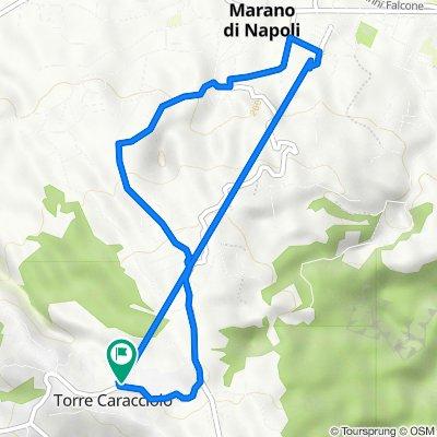 Da Via Marano Pianura 268, Torre Caracciolo a Via Marano Pianura 264/E, Torre Caracciolo