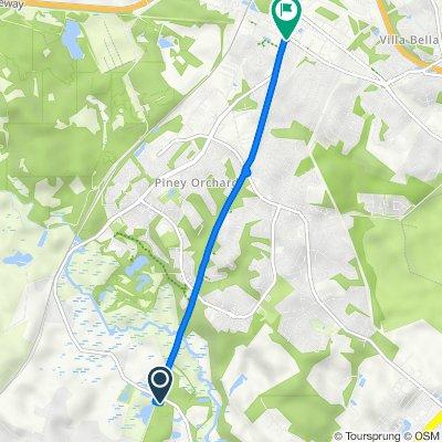 1108–1136 Patuxent Rd, Odenton to 1309 Odenton Rd, Odenton