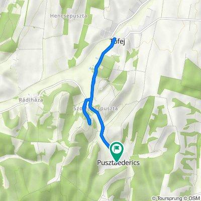 Kossuth utca 1a., Pusztaederics to Petőfi utca 35., Pusztaederics