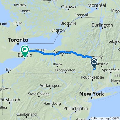 41 Lisa Ln, Athens to 942–2199 Niagara Square, Buffalo