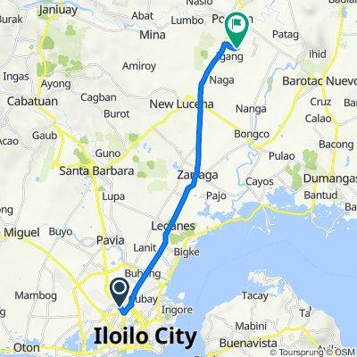 Jaro, Iloilo City to Unnamed Road, Pototan