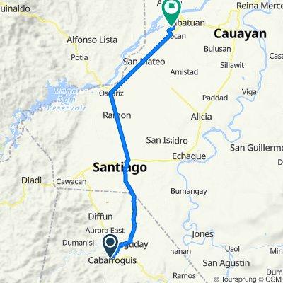 Cordon - Diffun - Maddela - Aurora Road, Cabarroguis to Unnamed Road, Cabatuan