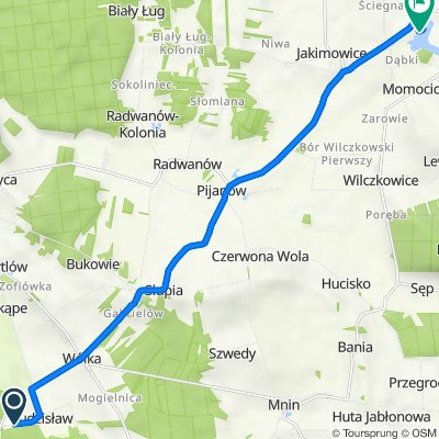 Trasa z Budzisław 38, Budzisław