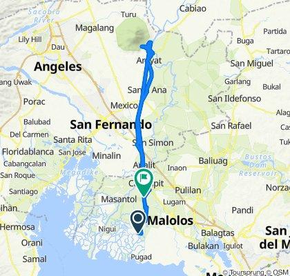 Sagrada Familia 193, Bayan ng Hagonoy to Iba Road 28, Calumpit