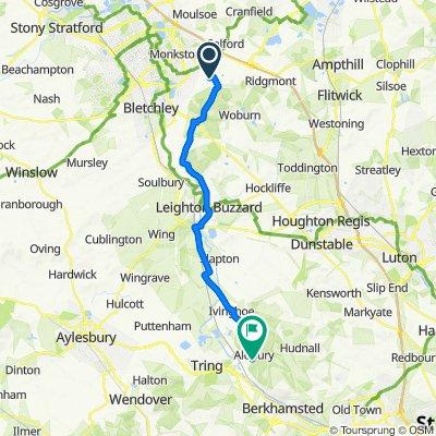 34 Drayhorse Crescent, Milton Keynes to 11–13 Newground Road, Aldbury, Tring