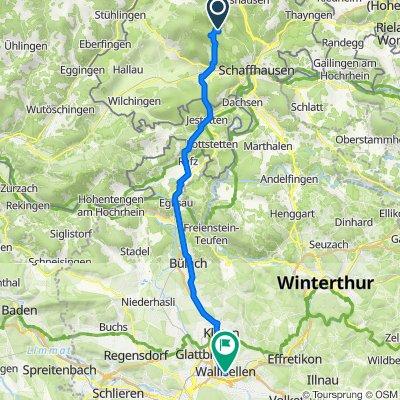 Hofwiesenstrasse 22, Hemmental nach Zentralstrasse 8, Wallisellen