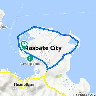 Port Road 5400, Masbate City to Port Road 5400, Masbate City