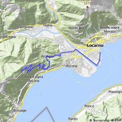 locarno bike leg | Bikemap - Your bike routes