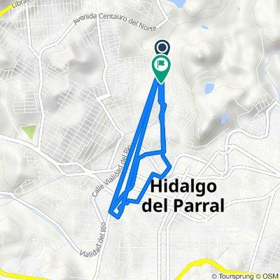 De Felipe Pescador 15, Hidalgo del Parral a Calle Mártires del 3 de Mayo 1, Hidalgo del Parral