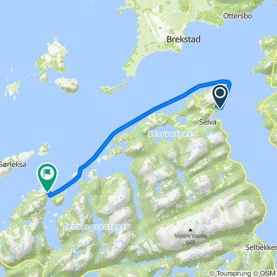 Breivikveien 65 to Kongensvollveien 1165