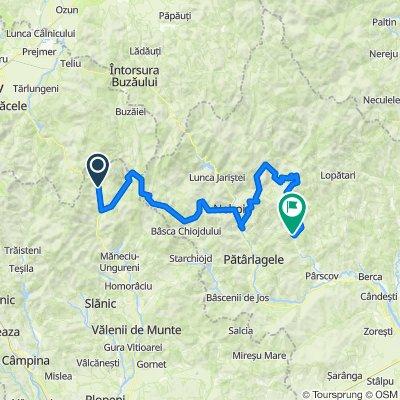 Traseul Alpin Cheia - Baraj Basca Chiojdului - Nemertea - Trovanti Ulmet